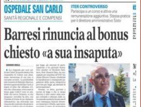 """SPESE AL SAN CARLO: LA SMENTITA CHE NON """"SCONFERMA"""" LA DETERMINA"""